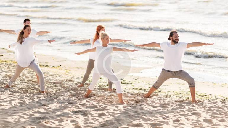 Why You Should Try Beach Yoga